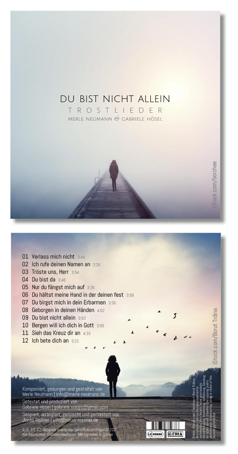 CD Du bist nicht allein - Trostlieder | Merle Neumann & Gabriele Hösel